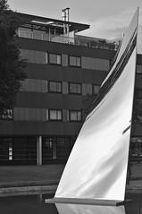 img_0002 (Jan van de Rijt) Tags: depont tilburg skymirror monochrome anishkapoor art museum darktable gimp canoneos50d architecture canonef50mmf18