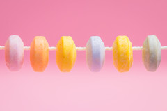 MM: Candy Necklace (emmawalsh78) Tags: macromondays candy sweets colourful pastels macromademoiselle