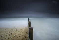 Blyth Beach Groynne (Alex365pix) Tags: le leefilters 10stop blyth groyne seascapes sea water weather northumberland northeastcoast nikon benro beach