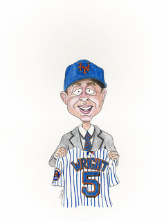 David Wright drafted - June 5, 2001