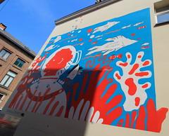 Malines Mosselschelpstraatje @Shamisa Debroey (One Mile Under Sea) IMG_0245 (blackbike35) Tags: malines melchelen belgique art artwork de rue aérosol bomb paint graff graffiti street streetart urban public writing artist