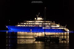 Corfu Glamur Yacht (stylianosl) Tags: cityscapephotography stylianosphotography nightphotography aktaion nature corfu finephotography naturecolors citycene stylianos cityscapes cityscape yacht