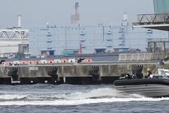 Japan Coast Guard anti-terror drill (vincentvds2) Tags: coastguard japancoastguard japan antiterror terror drill exercise yokohama akarenga