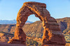"""First Light at Delicate Arch (KC Mike Day) Tags: sunrise light first arch delicate moab utah """"delicate"""