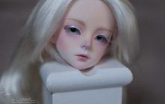 Cathy_01 (RedLorna) Tags: bjd faceup makeup manicure albino withdoll cathy withdollcathy