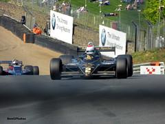 Katsuaki Kubota - 1982 Lotus 91 (BenGPhotos) Tags: formula1 2018 masters historic festival brands hatch fia formula 1 one f1 championship race racing sports motorsport car jps johnplayerspecial katsuaki kubota 1982 lotus 91 cosworth dfv 917