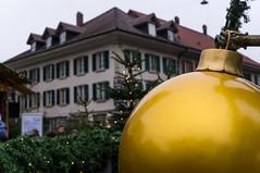 Christmas Ball (Bephep2010) Tags: 2016 30mm 30mmf28exdn bern christbaumkugel emmental herbst huttwil nex nex6 schweiz sigma sony switzerland weihnachtsmarkt autumn christmasball christmasmarket ch