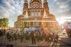Большой хоровой собор на площади Михайловского собора г. Ижевска