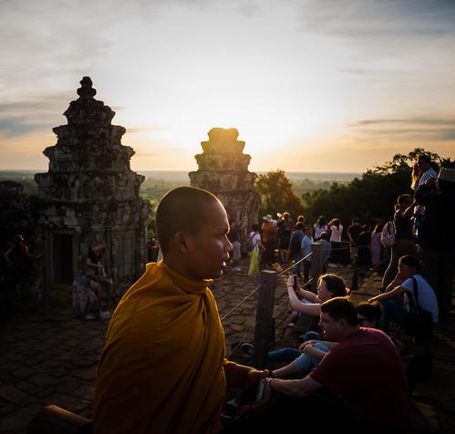 Monje Camboya