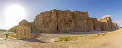 Naqsh-e Rustam (Alex Tudorica) Tags: naqsh e rustam iran achemenid empire persia tombs darius xerxes artaxerxes panorama zoroastrian zoroaster cube