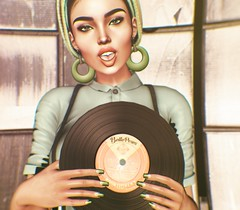 Everything is better with music (SueGeeli DeCuir) Tags: vintagefair elleboutique earrings darkpassions nailappliers genusproject belleza justice nomatch wearh0use belleposes lumipro cosmopolitan virtualworld virtualreality virtualgirl secondlife blogger blog styleitup styleitupsl