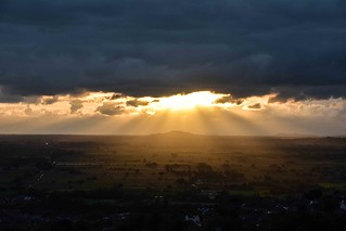 Brent Knoll Sunset