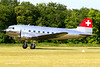 N431HM Private Douglas DC-3C (Aviation and more) Tags: dakota n431hm private douglas dc3c dc3 shining metal brilliant warbird lafertéalais airshow france 2018 swiss oldtimer aircraft avion airplane grass runway takeoff switzerland amazing outdoor outside