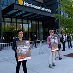 Protesting McDonald's Animal Cruelty Practices Outside Hamburger University West Randolph Street Chicago Illinois 5-24-18  1551 thumbnail