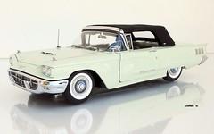 1960 Ford Thunderbird Convertible (JCarnutz) Tags: 124scale diecast danburymint 1960 ford thunderbird