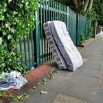 28 May 2018. Dumped mattresses Park View Road thumbnail