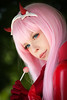 Zero Two cosplayer at ExCeL London's MCM Comic Con, May 2018 (Gordon.A) Tags: london docklands londondocklands excel excellondon excellondonexhibitioncentre moviecomicmedia mcm con convention comicbookconvention comiccon mcmcomiccon mcmlondon comicconlondon comicconlondonexcel 2018 may2018 mcm2018 creative costume culture lifestyle style zerotwo darlinginthefranxx gainax cosplay cosplayer cosplayportrait cosplayphotography festival event eventphotography amateur pose posed portrait portraitphotography streetportrait streetphotography colourportrait colourstreetportrait naturallight naturallightportrait canon eos 750d canoneos750d sigma sigma50100mmf18dc