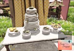 {YD} Wedding Delicate Love - 01 ({Your Dreams}) Tags: yourdreams wedding gacha newdecoration succulent