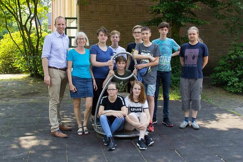 Mit den Schülern des Landesbildungszentrums für Hörgeschädigte in Oldenburg habe ich über meine Arbeit als Abgeordneter diskutiert.