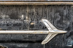 El Camino (rickhanger) Tags: automotive automobile auto vehicles chevrolet chevy elcamino pickuptruck pickup rust rusty chrome insignia