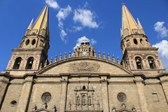 Catedral (Javier Megar) Tags: art architecture arquitectura azul arte beautiful blue bench black bloom brown blog countryside camera cielo cute colorful colours contrast city cityscape classic cultural colorous coth5 cultura digital downtown d750 day 7dwf old landscape woods outdoors guadalajara shadows eos flickr frühling farm gothic iglesia history hill photography photo photoshop sky happy light ligth silhouette sight sunshine monument mist morning nikkor outside tourism world color pretty paisaje religion travel mexico waves wet style nyc reloj torre viejo