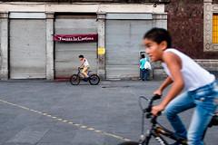 Mexico City Kids (Frederik Trovatten) Tags: streetphotography street streetportrait bike bikes bicycle mexico mexican cdmx mexicocity kids kid biking fuji fujifilm x100f color colors streetphoto streets streetphotos colour downtown
