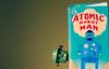 Oi ! (CJS*64) Tags: dslr d7000 nikon nikkorlens nikkor nikond7000 50mmf18lens 50mmnikkorlens 50mmf18d robot invasion box colin toy atomic man