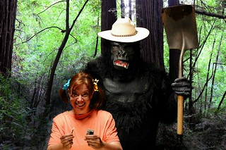 Smokey the Bear's Cousin. Louie the Gorilla catches a Girl playing with Matches in the Sequoia National Forest
