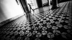 Impressions from Coimbra (Hendrik Lohmann) Tags: streetphotography street bnw blackandwhite monochrome nikon portugal coimbra university urbanart city