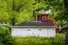 2018 - photo 158 of 365 - garage and barn near Canning, Nova Scotia (old_hippy1948) Tags: garage barn