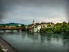 Olten Blick auf die Aare -Schweiz (mariomüller1) Tags: natur wasser flus landschaft landscap farbe panasonic fz200 schweiz
