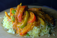 Chicken Tikka Gumbo Curry (Tony Worrall) Tags: add tag ©2018tonyworrall images photos photograff things uk england food foodie grub eat eaten taste tasty cook cooked iatethis foodporn foodpictures picturesoffood dish dishes menu plate plated made ingrediants nice flavour foodophile x yummy make tasted meal nutritional freshtaste foodstuff cuisine nourishment nutriments provisions ration refreshment store sustenance fare foodstuffs meals snacks bites chow cookery diet eatable fodder asian spicy curry rice chicken tikka gumbo peppers