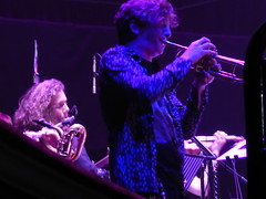 Space Shambles 15/06/18: The Band (Diamond Geyser) Tags: spaceshambles gig show onstage rah royalalberthall stevepretty trumpet musician