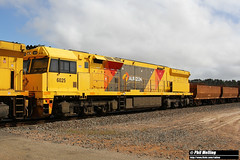 6025 4415 loaded ore Monjingup 5 April 2018 (RailWA) Tags: railwa philmelling 2018 esperance 6025 4415 loaded ore monjingup
