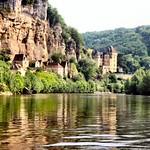 River Dordogne west of Le Roque-Gageac thumbnail