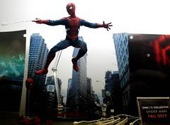 2017-Spider-Man Action Figure-01 (David Cummings62) Tags: sandiego ca calif california comiccon con david dave cummings 2017 marvelcomics actionfigures spiderman