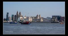 River Mersey, Tall Ships Regatta (viviennenoonan) Tags: boats liverpool rivermersey ships tallships water waterfront
