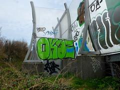 A20 - Okus (oerendhard1) Tags: graffiti streetart urban art vandalism illegal rotterdam oerendhard a20 okus