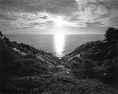 Sun set in Hallett Cove by the sea (tymobile) Tags: oceanview landscape tiltshift wideangle rodenstock technikardan linhof seainvasion hallettcove coastline valley sunset beach sea southaustralia adelaide fp4 ilford sheetfilm blackandwhite 4x5 filmphotography largeformat
