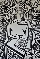 Elektroshok (MATLAKAS) Tags: art painting contemporaryart artnow arte kunst bild bilder originalart matlakas biennale biennaledivenezia venicebiennale artist artista onar