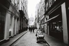 London (goodfella2459) Tags: nikon f4 af nikkor 24mm f28d lens fomapan profiline classic 100 35mm blackandwhite film analog london city streets road buildings people pedestrians bwfp