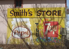Fresh Paint (Patricia Henschen) Tags: blanca colorado sanluisvalley store general pepsi sign signage painted vintage 7up smiths market