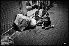 Udagawa-chō, Shibuya-ku, Tōkyō-to (GioMagPhotographer) Tags: tōkyōto night shibuyaku afterdark peoplesingle udagawachō streetscene japanproject japan leicamonochrom tokyo tkyto udagawach