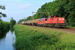 DB Cargo 6413+1615 @ Herfte (Sicco Dierdorp) Tags: db dbc cargo serie1600 serie6400 unitcargo ketelwagen keteltrein onnen kijfhoek herfte meppel zwolle