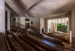 Abandoned chapel in an abandoned Catholic school - Madonna de Borchi Italy
