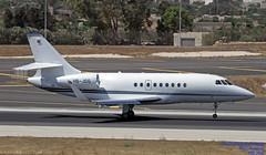 HB-JGG LMML 13-06-2018 (Burmarrad (Mark) Camenzuli Thank you for the 12.2) Tags: airline msc aviation aircraft dassault falcon 2000lx registration hbjgg cn 188 lmml 13062018