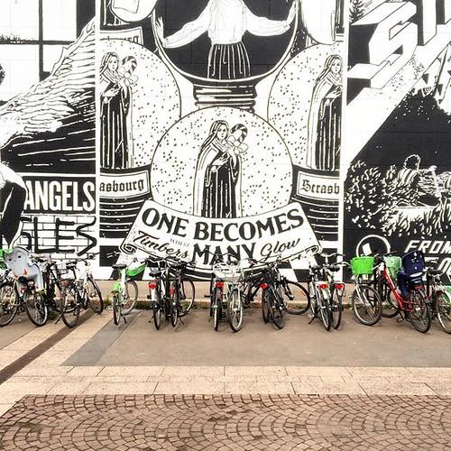 Le @mamcstrasbourg #strasbourg #strasbourg_eurometropole #bike #velo