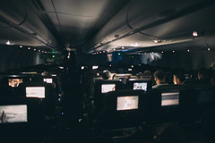 Airbus A380 (economy) Experience (michael spear hawkins) Tags: lenstagger a380 a7riii adaptedglass adaptedlens airbus airbusa380 airplane cheap coach doubledecker econonmy flying inbetween inflightentertainment intransit midnight nighttime overnightflight passengerplane plane qantas seats sleeping sony sonya7riii sonymirrorless travel vintageglass vintagelens widebody