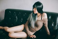 TN (Randy Wei) Tags: mitakon fujifilm zhongyi naturallight indoors sexy taiwan taipei girls