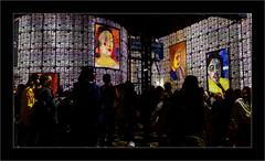Série Atelier des Lumières : N°6- Portraits - (Jean-Louis DUMAS) Tags: peinture abstract abstraction artiste artist artistique art peintre portrait portraiture gens people